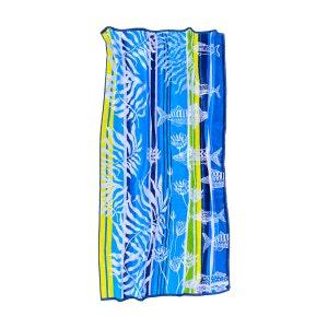 Aquarium Bleu Beach Towel