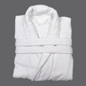 Adam White Velour Bath Robe
