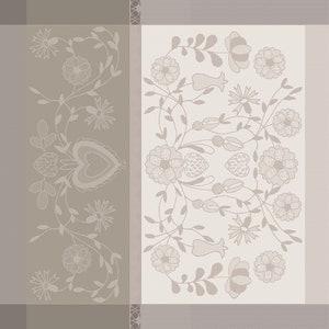 American Folk Bouleau Jacquard Napkin, 100% Organic Cotton Image