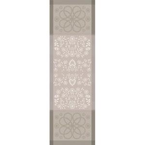 American Folk Bouleau Jacquard Tablerunner, Stain Resistant Organic Cotton Image