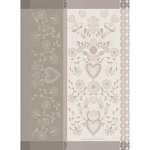 American Folk Bouleau Jacquard Kitchen Towel