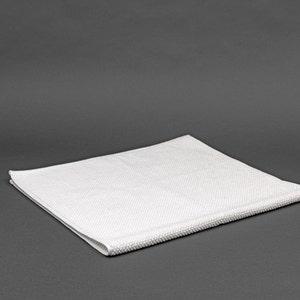 Buran White Bath Mat