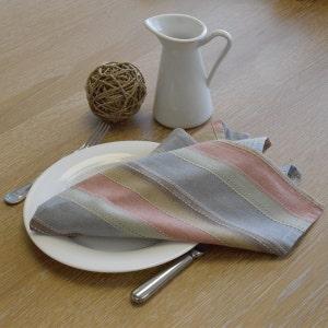 Camini Multicolor Napkin, 100% Cotton, Set of 4