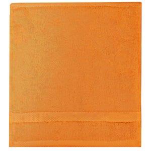 """Elea Orange Face Towel, 12""""x12"""""""