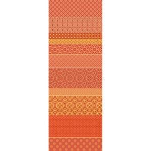 """Mille Bastides Garance Tablerunner 61""""x22"""", 100% Cotton"""