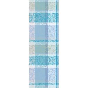 Mille Dentelles Turquoise Tablerunner, 100% Cotton