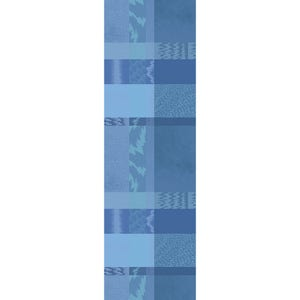 """Mille Matieres Abysses Tablerunner 71""""x22"""", 100% Cotton"""