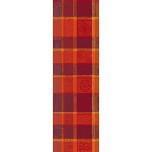 Mille Wax Ketchup Tablerunner, 100% Cotton