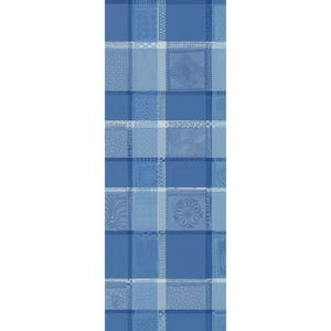 "Mille Wax Ocean Tablerunner 22""x71"", 100% Cotton"