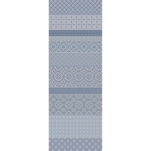 "Mille Bastides Charbon Tablerunner 61""x22"", 100% Cotton"