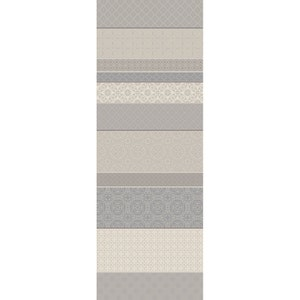 "Mille Bastides Natural Tablerunner 61""x22"", 100% Cotton"
