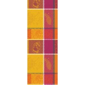 "Mille Holi Epices Tablerunner 61""x22"", 100% Cotton"