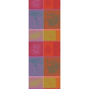 """Mille Holi Festival Tablerunner 61""""x22"""", 100% Cotton"""