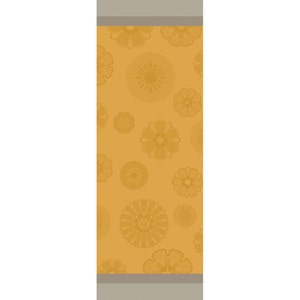 "Murano Curry Tablerunner 61""x22"", 100% Cotton"