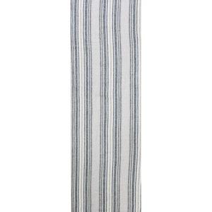 "Sombrilla Gris Tablerunner 20""x61"", 100% Linen"
