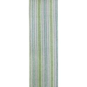 "Sombrilla Olive Tablerunner 20""x61"", 100% Linen"