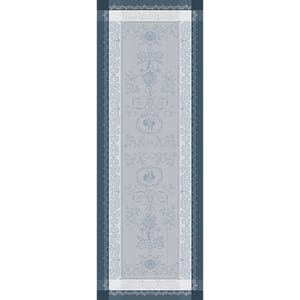 "Bagatelle Flanelle Tablerunner, Size:20""X90"", Green Sweet"