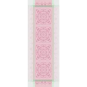 Eugenie Candy Tablerunner, Stain Resistant Cotton