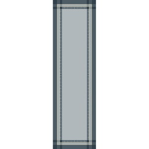 """Galerie Des Glaces Argent Tablerunner 20""""x91"""", Green Sweet Stain-resistant Cotton"""