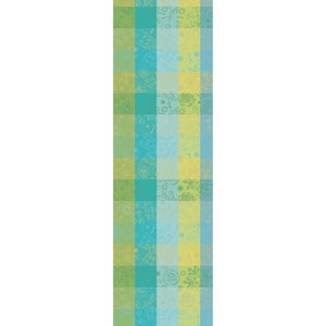 "Mille Alcees Narcisse Tablerunner 22""x71"", 100% Cotton"