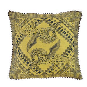 Cheval Aile Curry Jacquard Cushion Cover Image