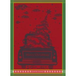 Christmas Pick Up Noel Jacquard Kitchen Towel Image