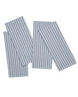 "Columni Blue Napkin 17""x27"", 100% Cotton, Set of 4"