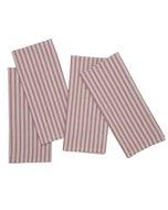 Columni Red Napkin, 100% Cotton, Set of 4