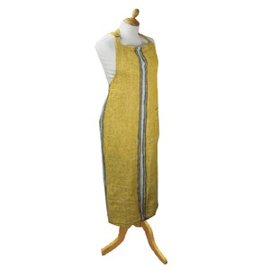 Costa Curry Apron, 100% Linen