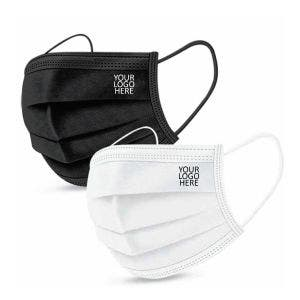 Disposable 3-layer NON Surgical Face Mask - With LOGO