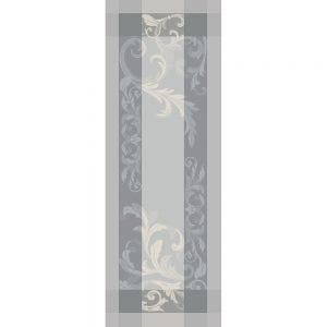 "Acanto Platine Tablerunner 61""x22"", Green Sweet Stain-resistant Cotton"