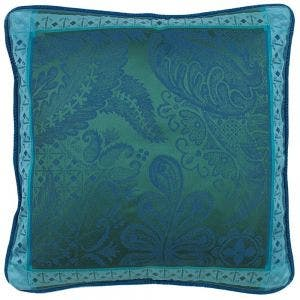 """Isaphire Emerald Cushion Cover , 20""""x20"""", 100% Cotton"""