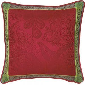 """Isaphire Ruby Cushion Cover 20""""x20"""", 100% Cotton"""