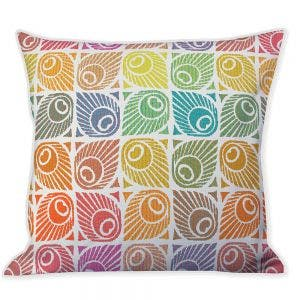 Mille Paons Festival Cushion Cover