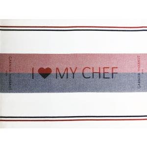 I Love My Chef Napkin