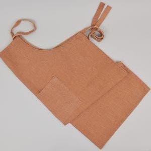 Lautrec Orange Jean Apron, 100% Cotton