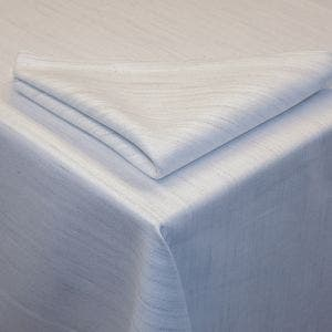 Madhu White Tablecloth