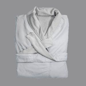 Melrose White Bath Robe, XLarge