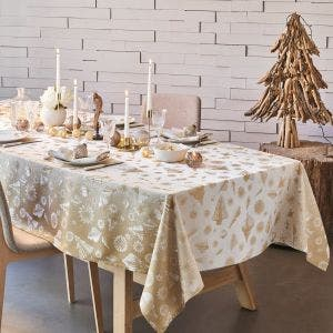 """Mille Merry Or Tablecloth 61""""x102"""", 100% Cotton"""