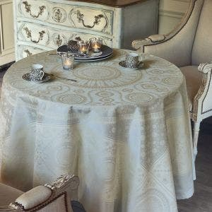 Imperatrice Argent Tablecloth