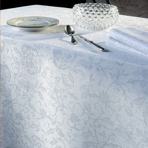 Mille Charmes Blanc Tablecloth