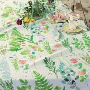 Mille Herbier Printemps Tablecloth