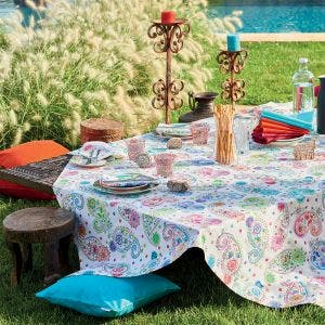 Mille Cachemire Festival Tablecloth