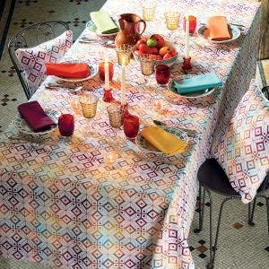 Mille Paves Flamboyant Tablecloth