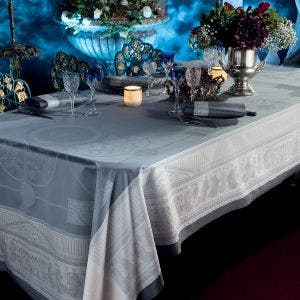 Roma Ardoise Tablecloth