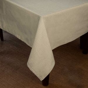 Mini Natte Beige Tablecloth