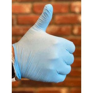 Nitrile Disposable Gloves, Size L