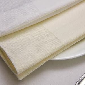 "Partridge Eye Border 22""x22"" Napkin"