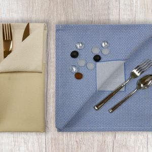Partridge Eye Border Napkin