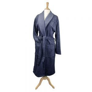 Elea Slate Blue Bath Robe